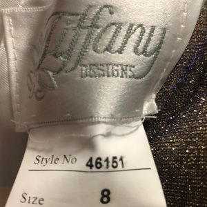 Tiffany Designs Dresses - Tiffany Designs prom dress- altered to size 6.
